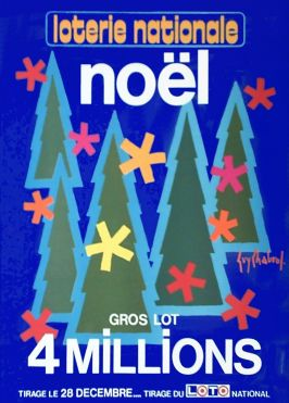 02861 Chabrol Loterie Nationale Noel 28 Decembre
