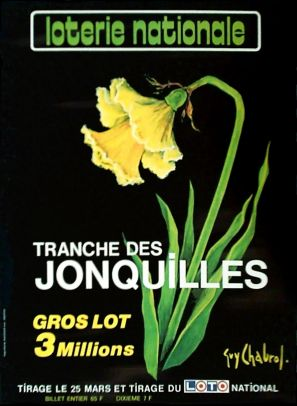 02880 Chabrol Loterie Nationale Tranche des Jonquilles
