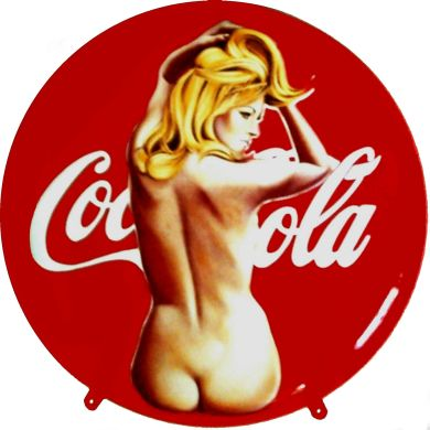 Coca Cola Pin Up Mel Ramos
